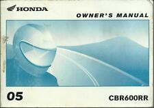 Honda Cbr600rr Owners Manual Ebay