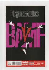 Nightcrawler #2 (July 2014, Marvel) VF/NM