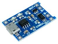 Micro USB TP4056 li-ion li-po lipo Battery Charger Module & Discharge Protection