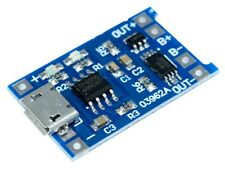 Micro-USB-TP4056-li-ion li-po lipo Battery Charger Module & Discharge Protection