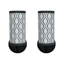 2pk | RV Textured Light Fixture | 12V LED | Decorative RV Bathroom Wall Light