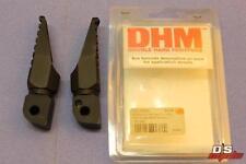 MOTRAX DOUBLE HARD FOOTPEGS SET REAR PEGS BLACK FAZER 600 TDM900 PART# FY1RB