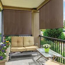 72 x 72 Outdoor Exterior Roller Shade Weather Resistant Blocks Heat Sun Privacy