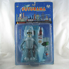 Futurama Bender figure Suicide Booth base Moore Collectibles - worn packaging