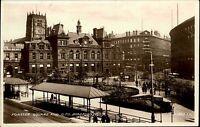 Bradford Yorkshire England 1930/40 Forster Square Platz Gebäude Buildings G.P.O.