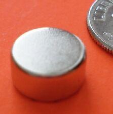 20 STRONG Neodymium N42 (Neo, NdFeB, NIB) Disc Magnet 3/8 x 1/8 for Reborn Dolls