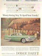 1960 Dodge Dart Hardtop Color - Classic Car 10x13 Advertisement Print Ad LG21
