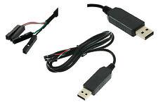 Cable Adaptateur convertisseur USB vers Serie RS232 TTL UART PL2303HX AZBox