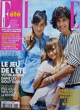 ELLE 2009: INES DE LA FRESSANGE et ses filles_EVA MENDES