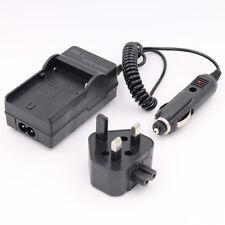 AC/Car Battery Charger for Panasonic Lumix DMC-FZ47K/FZ48/FZ70/FZ70K/FZ72/FZ72K