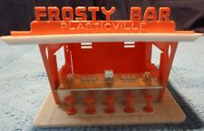 Plasticville O Scale Frosty Bar Chrome Front Complete.