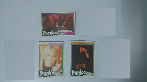 Lou Reed Tompetty Hot Rods punk the new wave vintage SMALL MINI cards set