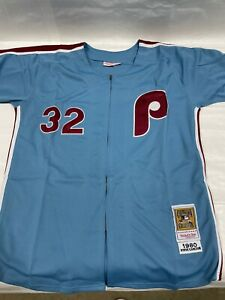 Mitchell & Ness Cooperstown Collection Phillies Steve Carlton Jersey - Sz 50 M