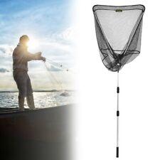 "90.6"" Retractable Telescoping Pole Fishing Landing Net Tackle Aluminum Alloy"