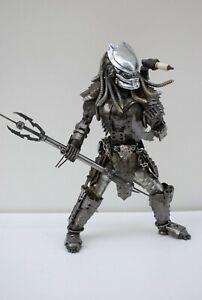 Predator (a3,F) Scrap Metal Sculpture Handmade Gift Cool Christmas Gift For Dad