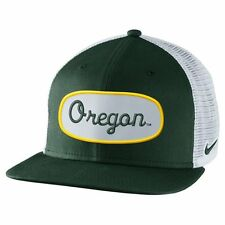 "Nike Oregon Ducks True Fan Adjustable Trucker Hat - Green ""Free Shipping in USA"""