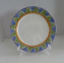 Sango Sweet Shoppe Dinner Plate Almond Torte #3026 Sue Zipkin Geometric Design