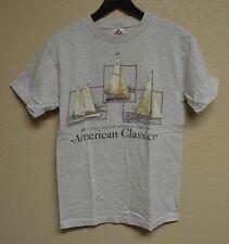 Vintage VTG American Classics Sail Boat Sailing Takes Me Away T-Shirt Small