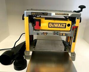 "DeWALT DW734 12-1/2"" Thickness Three Knife Head Wood Planer Tool - 15 Amp GR"