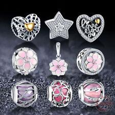Pandora Charms 925 Sterling Silver Bracelet Beads Fine Jewelry