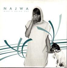 NAJWA JEAN WHAT'S GOING ON CD single PROMO