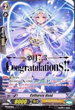 Catharsis Vivid Congratulations English Cardfight Vanguard Full Art Promo - MINT
