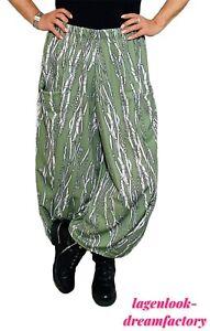 MYO-Lagenlook überweite Ecken-Boller-Ballon-Hose SLINKY Steigbügel  2 Größen