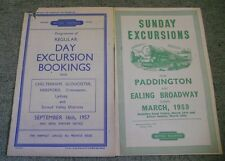 Programme of Regular Day Excursion Bookings from Cheltenham, Gloucester, Herefor