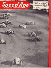 Speed Age Magazine April 1951 Dirt Tracks Dick Seaman 080217nonjhe
