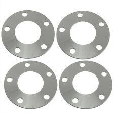 (4) 5mm Flat Hubcentric Wheel Spacers 5x4.5 Bolt Pattern 70.5mm CNC Machined