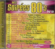 CD album: Compilation: Mes Soirées 80's N° 2. Universal . V