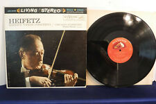 Walter Hendl, Heifetz: Sibelius Violin Concerto, RCA Victor LSC 2435, 1960