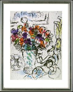 Marc Chagall (1887-1985), Les Anemones / anemones flowers, 1963