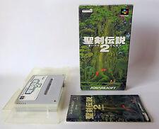 SEIKEN DENSETSU 2 Secret of Mana [ Super Famicom ] Japan