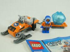 Lego City Arktis 60032 Schneemobil komplett mit Anleitung OBA