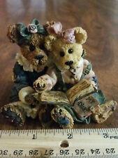 Boyds Bears Bailey & Becky The Diary Style #22830Rs Figurine
