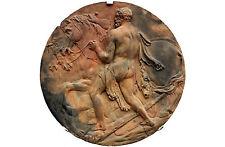 Encadrée Imprimer-Hercules et les juments de Diomedes c. 1790 (photo mythique art)