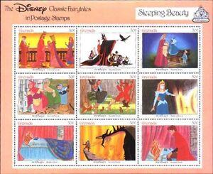 Disney by Grenada MNH Sc 1541 Sleeping Beauty  Value $ 4.25