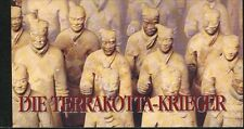 United Nations Vienna MNH Sc 232 Booklet  Terracotta Warriors