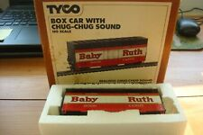 Vintage Tyco Ho Scale Baby Ruth Box Car No.902 W/Chug-Chug Sound~In Ob