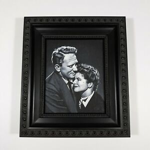 Painting 4 x 5 Acrylic Canvas Tracy Hepburn Film Movie Memorabilia Art Portrait
