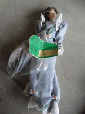 """RARE Franklin Mint Vinyl Gibson Girl Lily in Floral Prototype Doll 15"""" Tall"""