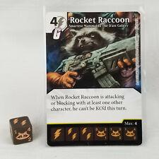 Rocket Raccoon Smartest Mammal Age of Ultron 126/142 Dice Masters Rare D1
