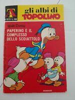 """Disney Mickey Mouse """"GLI Albi di Topolino"""" Paperback No 1073 *L100 Edition 1975"""