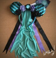 2020 Disney Minnie Mouse Main Attraction Limited Haunted Mansion Ears NWT