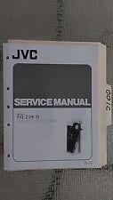 JVC fq-22 k d service manual original repair book stereo tuner