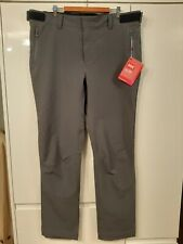 Helly Hansen Softshell Pants Trousers Artic Grey OBS Pyeongchang 2018 Size XL