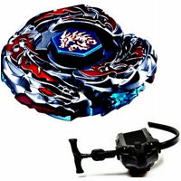 L-Drago Destroy Beyblade 4D Top Metal Fusion Fight Rare Master Launcher Kid Gift