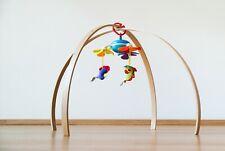 BABY GYM, ASH wood gym, Wooden baby gym frame, Montessori baby gym
