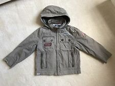 Catimini kaki Boys spring-summer jacket 5 years Zip Hooded